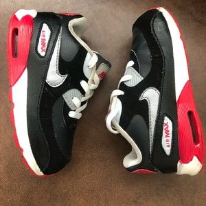 NIKE AIR MAX 90 Toddler boy sneakers- size 8c